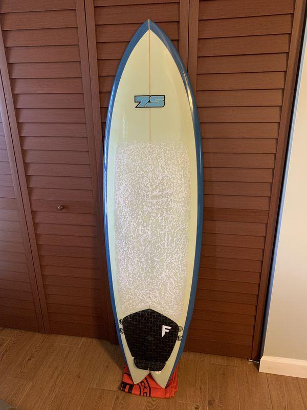 7S superfish surfboard 6'2