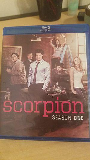 Scorpion season 1 (bluray) for Sale in Columbia, MO