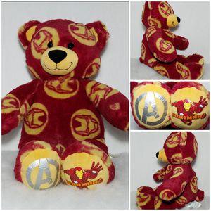 "17"" Build-A-Bear 🌹IRON MAN🌹 Marvel Avengers Teddy Bear BABW Stuffed Plush for Sale in Dale, TX"