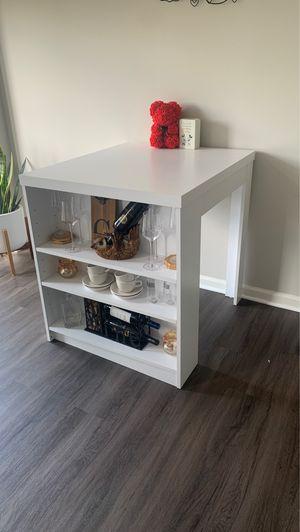 White kitchen table/island for Sale in Ashburn, VA