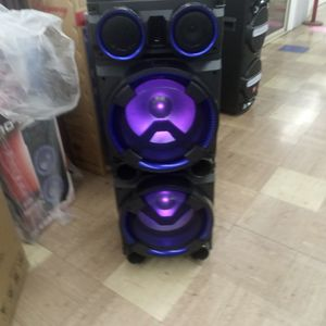 Brand New 8000 Watt Speaker Has Bluetooth Fm Am Great Sound Base Very Very Loud And Only For 270 Brand New Speaker In The Box for Sale in Phoenix, AZ
