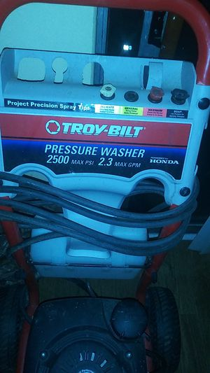 Troy Bilt Pressure Washer Powered by Honda 2500 PSI for Sale in Columbus, OH