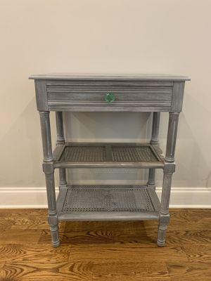 Gray Anthropologie side table for Sale in Atlanta, GA