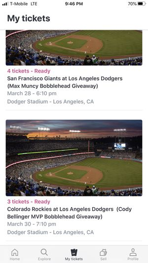 Dodgers bobblehead games for Sale in Fontana, CA