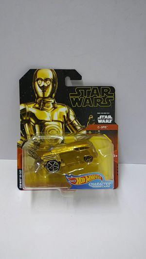 Hotwheels Star Wars Character Car C-3PO (540428) for Sale in Pompano Beach, FL