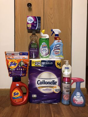 Tide and Downy Household Bundle - Brand New for Sale in Pickerington, OH