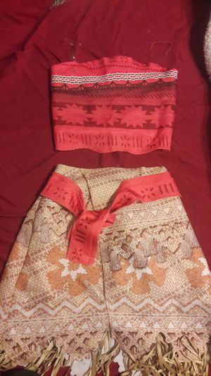 Moana Play Costume size 4-6x for Sale in Whittier, CA