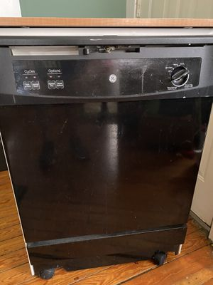 GE portable dishwasher. TV stand. for Sale in Monticello, IN