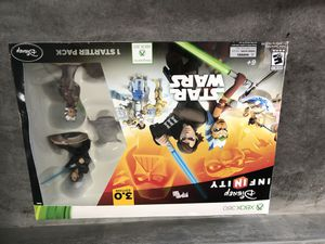 Star Wars Xbox 360 Disney infinity for Sale in Los Angeles, CA