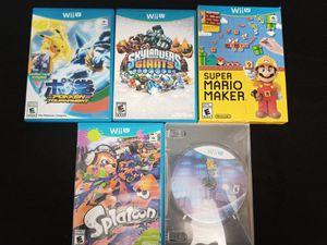 Wii U Game Bundle for Sale in Tampa, FL