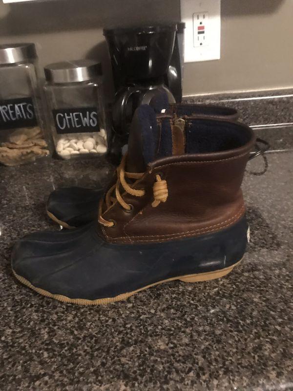 Womens Sperry duck boots