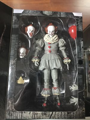 "IT! Pennywise NECA Reel Toys 7"" Inch Action Figure 2017 for Sale in La Habra Heights, CA"