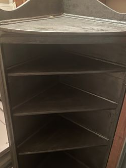 Gray Wooden Bookshelf for Sale in Cypress,  CA