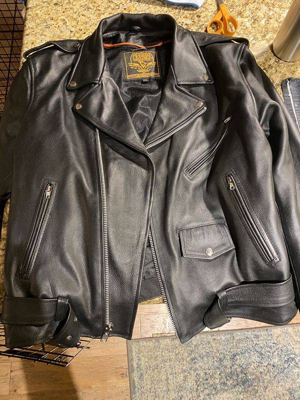 Milwaukee 2xl leather jacket with zip out liner