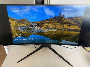 """Curved monitor 34"""" AW3418DW cash and pick up only for Sale in Chino Hills, CA"""