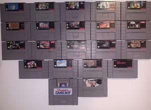 Super Nintendo games for Sale in Phoenix, AZ