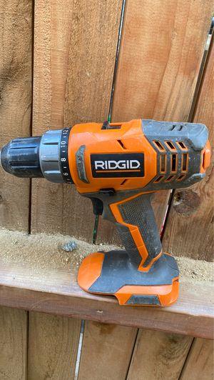 RIDGID drill for Sale in Bakersfield, CA