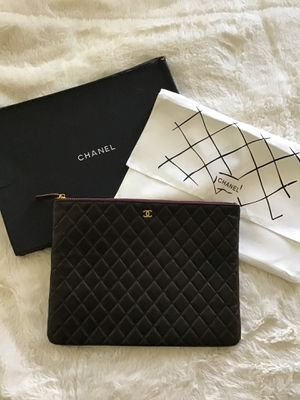 CHANEL Black Clutch Bag for Sale in Fresno, CA