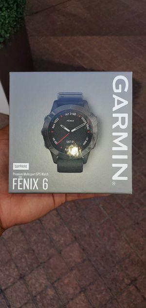 Garmin Fenix 6 Saphire for Sale in The Bronx, NY