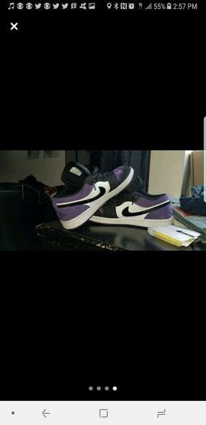 Jordan 1 court purple low for Sale in Union City, NJ