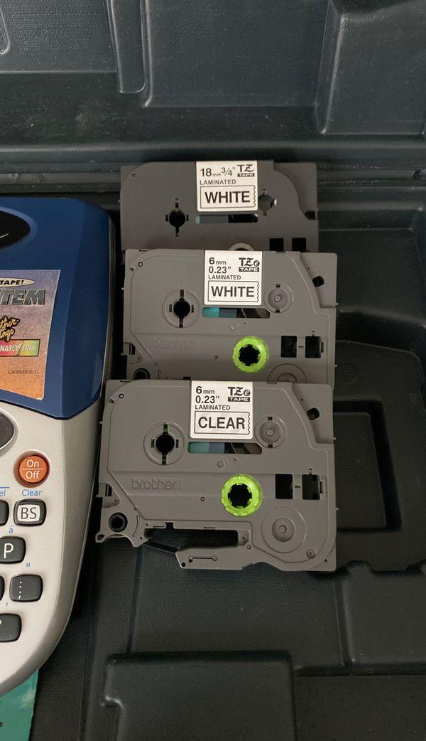 $45 OBO Brother PTouch PT1750 Set (Printer, Case, Cartridges, Batteries & Instructions)