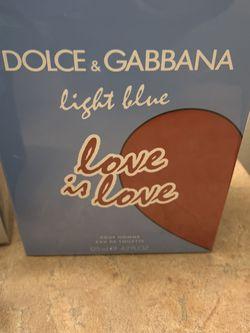 Dolce & Gabbana Light Blue Love Is Love Cologne 4.2 oz fragrance for Sale in Phoenix,  AZ