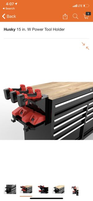 Husky 15 in. W Power Tool Holder for Sale in South El Monte, CA