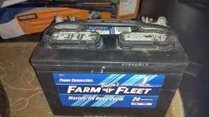 12 volt RV/ Marine deep cycle battery. for Sale in Baytown, TX