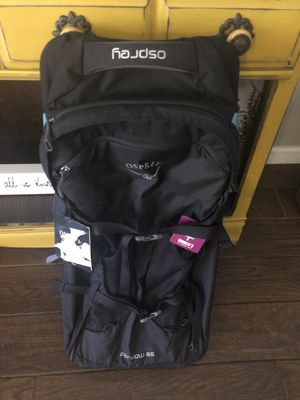NEW! Osprey Fairview 65 Wheeled Travel Pack - Women's for Sale in Glendale, AZ