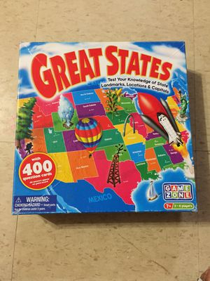 Great States Board Game for Sale in Silver Spring, MD