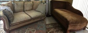 Sofa living room set couch and loveseat for Sale in Boca Raton, FL