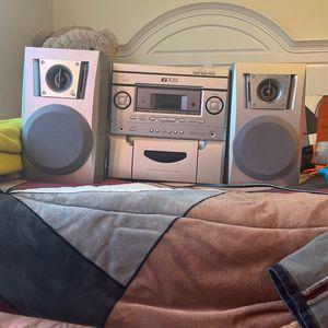 6 cd changer stereo system for Sale in Sandy, UT