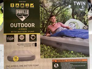 Twin air mattress for Sale in Riverside, CA