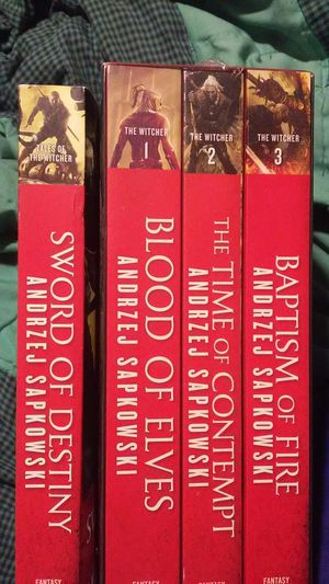 The witcher books for Sale in Puyallup, WA
