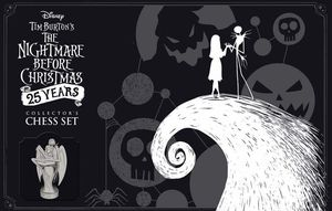 Tim Burton's The Nightmare Before Christmas 25 Year Collectors Chess Set for Sale in Fresno, CA