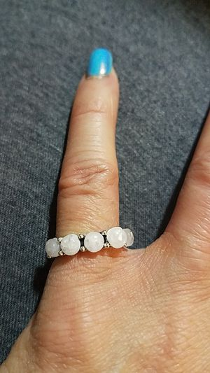 Silver Moonstone Pinky Ring size 4 for Sale in Aurora, CO