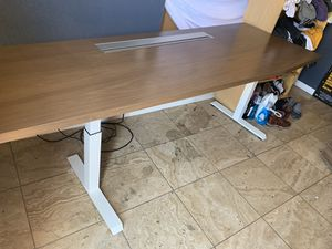 "Steelcase sit Standing desk 90"" long 51"" highest 2k new for Sale in San Jose, CA"