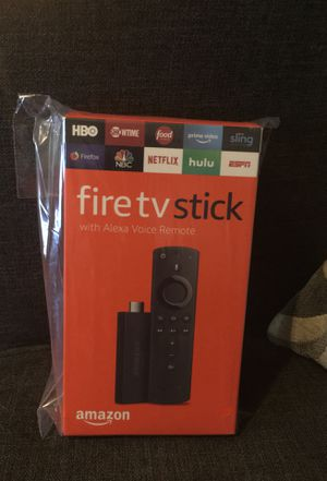 Fire tv stick with Alexa voice remote for Sale in Hammond, IN