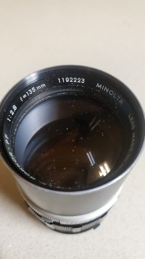 Minolta 135 mm lens (1:2.8) for Sale in Stockton, CA