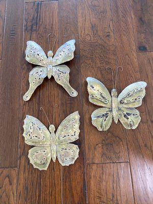 Metal Butterflies Wall Art for Sale in Naples, FL