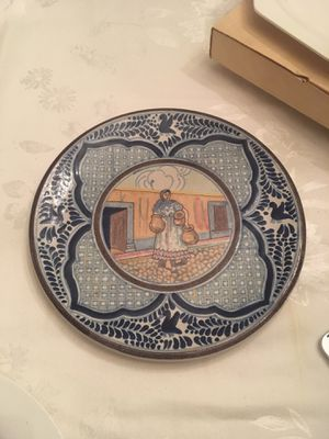 Hand painted decorative serving plate for Sale in Fairfax, VA