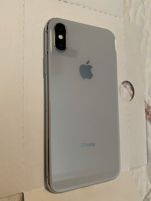 iPhone X 256GB silver (NEW) for Sale in Fairfax Station, VA