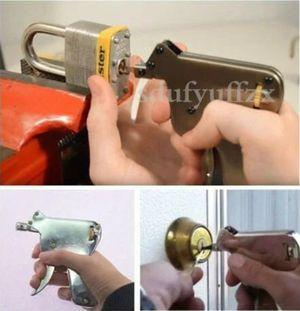 1 SET Strong Lock Pick Padlock Repair Tools Kit Door Opener Bump Key Locksmith for Sale in Winchester, VA