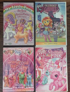 My Little Pony DVDS (Lot of 4) for Sale in St. Peters, MO
