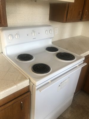 White appliance package. Electric stove, refrigerator and dishwasher. All work perfect! Only $150 for everything for Sale in San Diego, CA