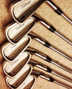 Titleist 712 CB 5-pw Iron Gold Clubs for Sale in San Diego,  CA