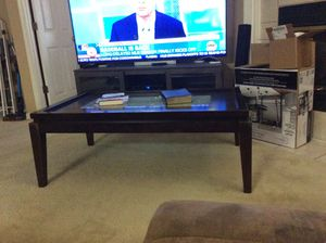 Beautiful coffee table with glass insert. Need to sell. for Sale in Pensacola, FL