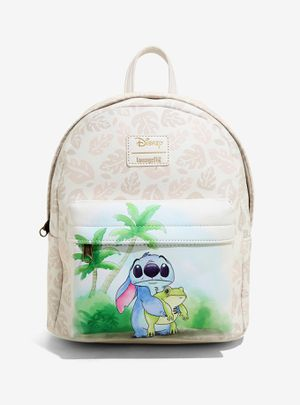 DISNEY LOUNGEFLY LILO & STITCH FROG MINI BACKPACK for Sale in Montebello, CA