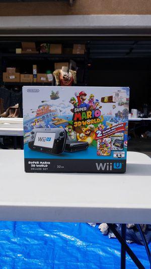Nintendo WiiU w/Super Smash Bros for Sale in Moreno Valley, CA