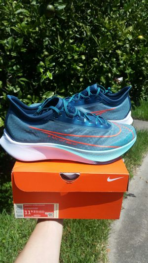 New Nike Zoom Fly 3 Premium Hakone men size 11.5 running shoes for Sale in Metairie, LA